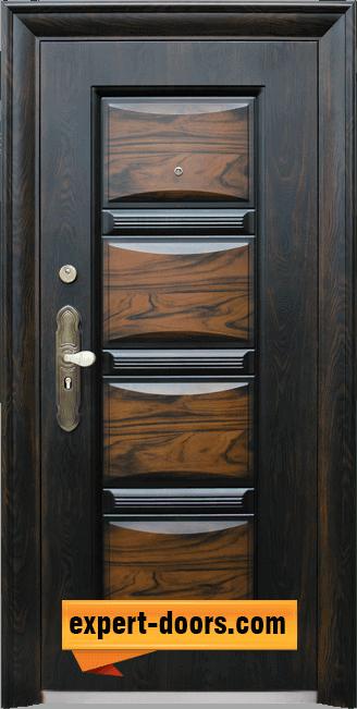 Блиндирана входна врата модел 516 1