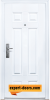 Блиндирана входна врата модел 666 2