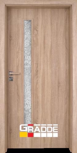 Интериорна врата Gradde Wartburg, цвят Дъб Вераде