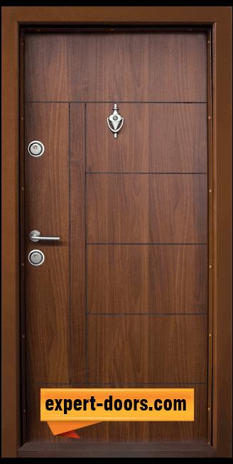 Блиндирана входна врата модел T 587 C 1