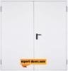 Метална пожароустойчива врата, REI 60, двукрила