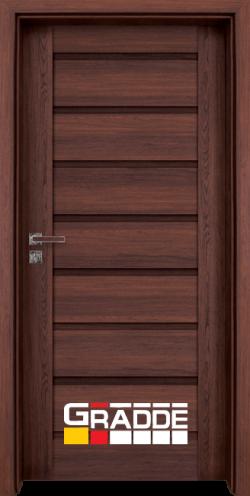 Интериорна врата Gradde Axel Voll, цвят Шведски Дъб