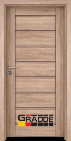 Интериорна врата Gradde Axel Voll, цвят Дъб Вераде