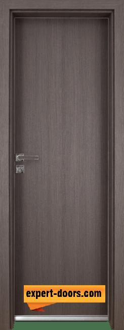 Алуминиева врата за баня – GRADDE цвят Череша Сан Диего