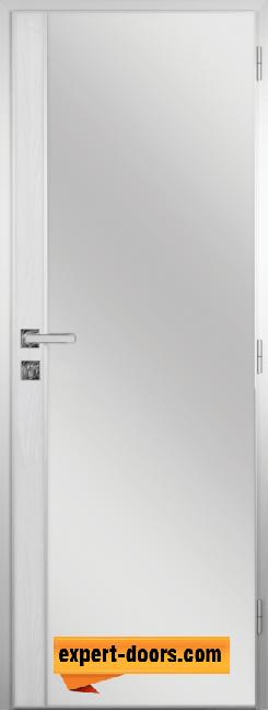 Алуминиева врата за баня с лайсна – GRADDE цвят Сибирска Лиственица