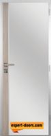 Алуминиева врата за баня с лайсна – GRADDE цвят Ясен Вералинга