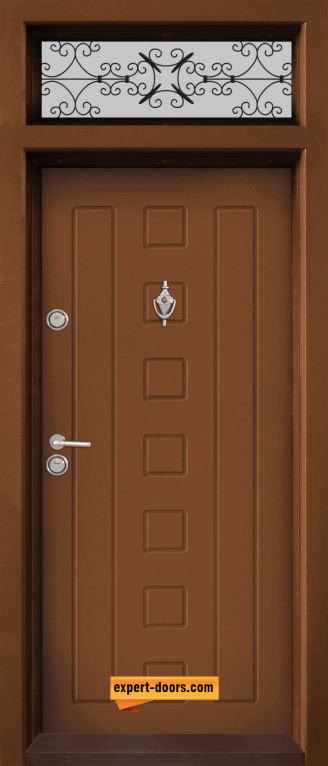 Ednokrila vhodna vrata T 712 tsvyat Zlaten dab 1