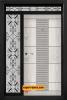 Двукрила входна врата Т-901, цвят Арктика