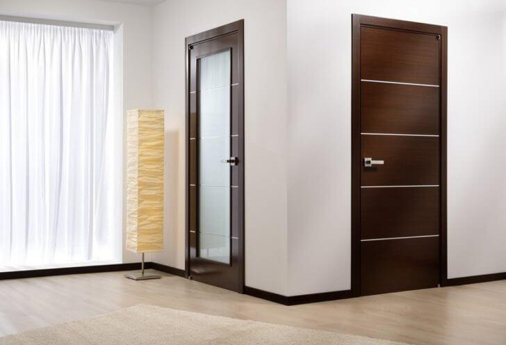 Интериорни врати- избор на цвят