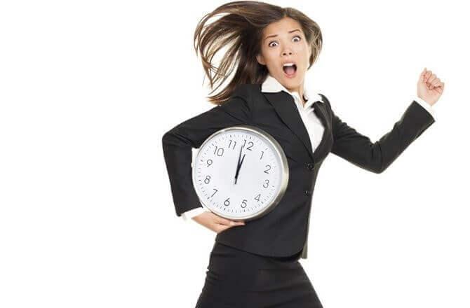 no time woman