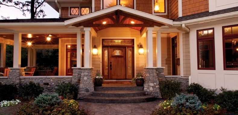pochistvane eksteriorni vrati