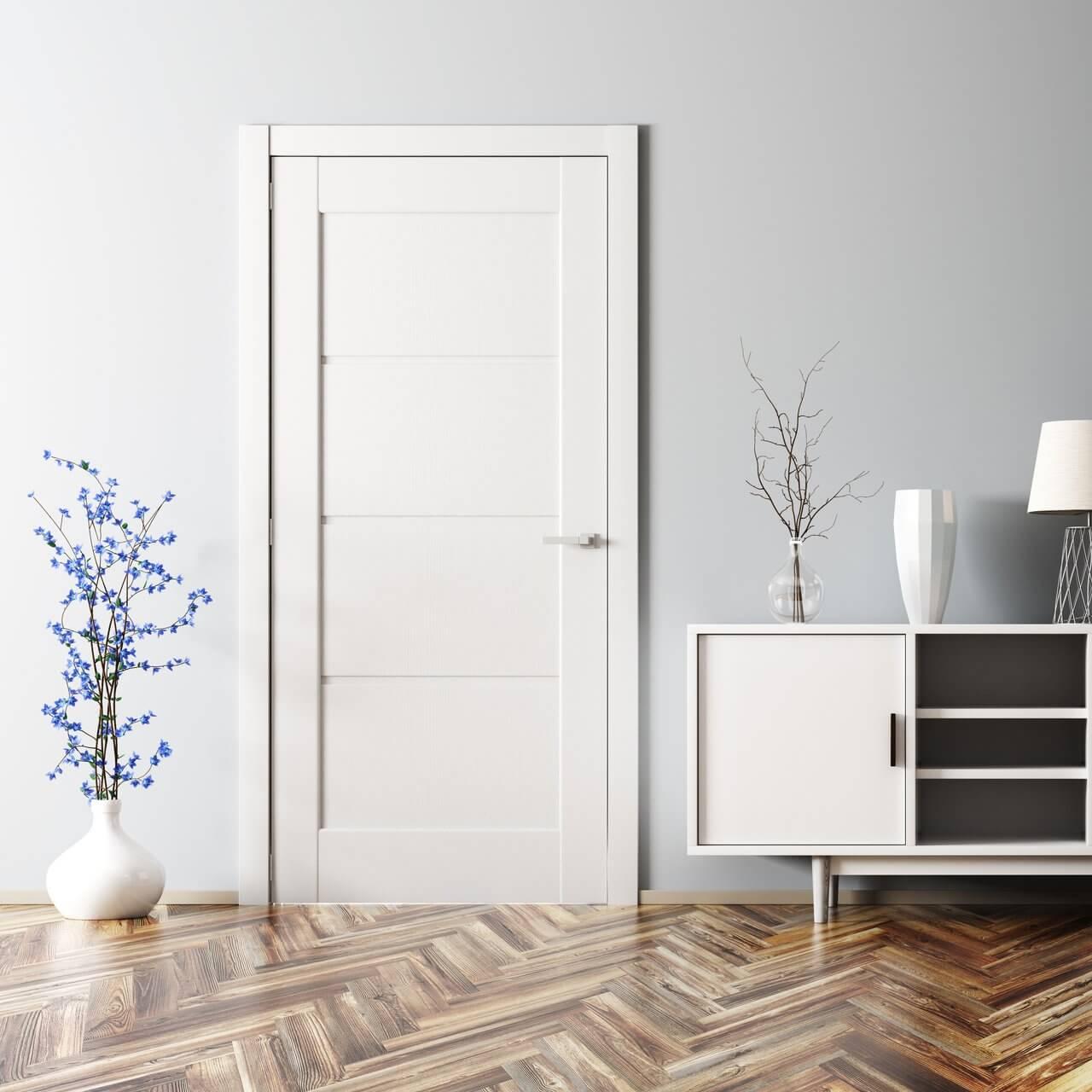 Избор на цвят на интериорна врата