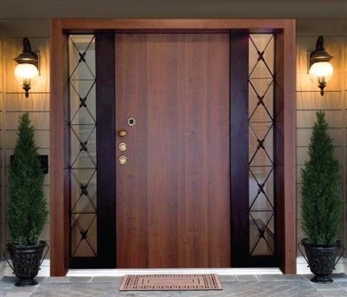 Входна врата - облик на дома