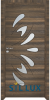 Интериорна врата Sil Lux 3011 Райски орех