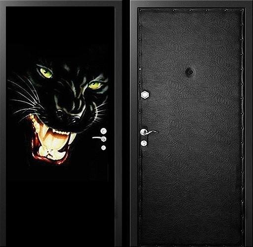 Входна врата с тапицерия