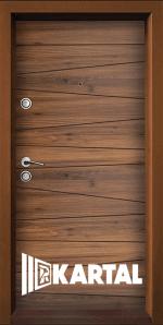 Блиндирана входна врата TP-005, цвят Савана