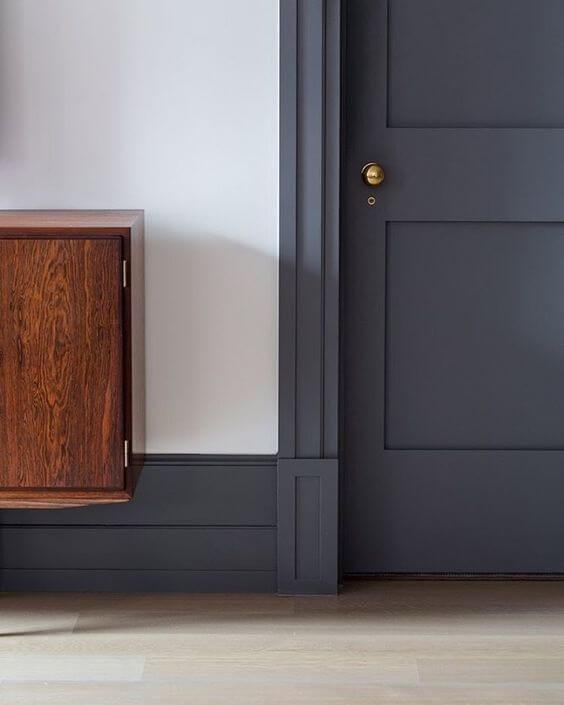 Изчистен дизайн за Интериорната врата
