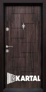 Блиндирана входна врата T 100, цвят Африка