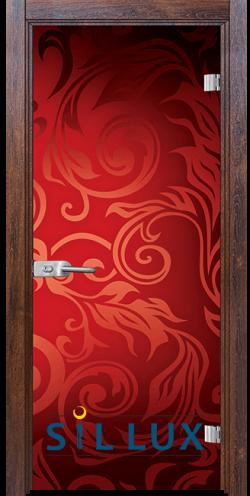 Стъклена интериорна врата Print G 13 11 Q