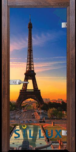 Стъклена интериорна врата Print G 13 12 Q