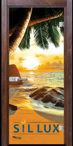 Стъклена интериорна врата Print G 13 14 Q