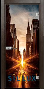 Стъклена интериорна врата Print G 13 18 K