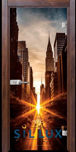 Стъклена интериорна врата Print G 13 18 Q