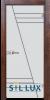 Стъклена интериорна врата Sand G 13 4 Q