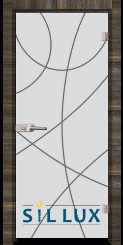 Стъклена интериорна врата Sand G 14 12 E