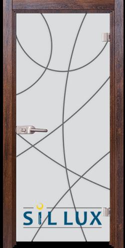 Стъклена интериорна врата Sand G 14 12 Q