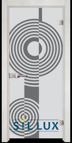 Стъклена интериорна врата Sand G 14 6 F
