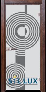 Стъклена интериорна врата Sand G 14 6 Q